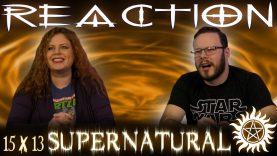 Supernatural 15×13 Reaction
