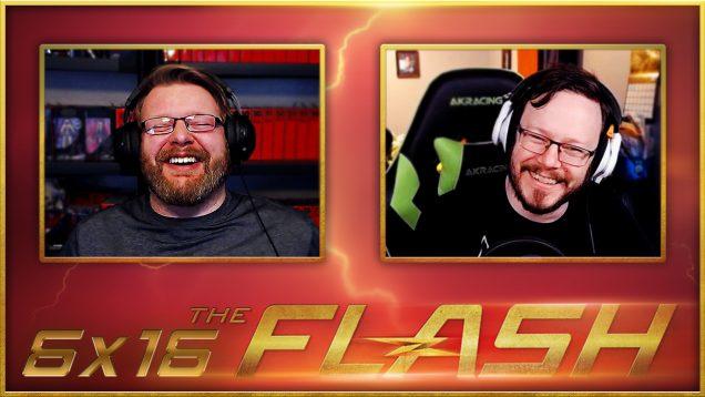 The Flash 6×16 Reaction Thumbnail