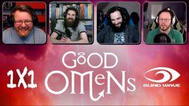 Good Omens 1×1 Reaction