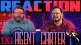Agent Carter 1×1 Reaction