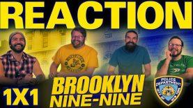 Brooklyn Nine-Nine 1×1 Reaction