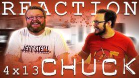 Chuck 4×13 Reaction EARLY ACCESS