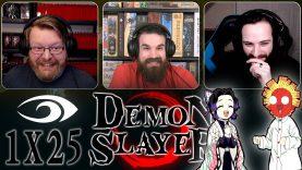 Demon Slayer 1×25 REACTION!!