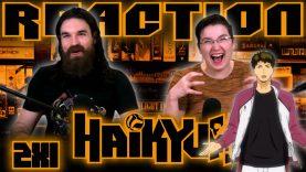 Haikyuu 2×1 Reaction Early Access