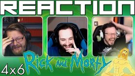 Rick and Morty 4×6 Reaction