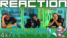 Rick and Morty 4×7 Reaction