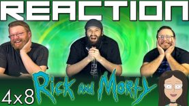 Rick and Morty 4×8 Reaction