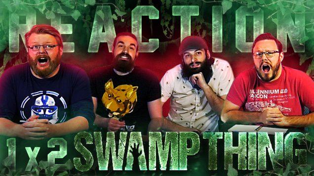 Swamp Thing 1×2 Reaction Thumbnail