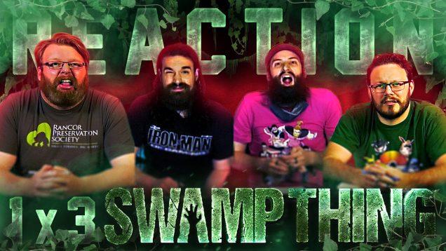 Swamp Thing 1×3 Reaction Thumbnail