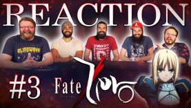 Fate/Zero 03 Reaction EARLY ACCESS