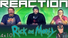 Rick and Morty 4×10 Reaction
