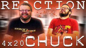 Chuck 4×20 Reaction EARLY ACCESS