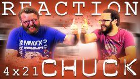 Chuck 4×21 Reaction EARLY ACCESS
