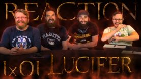 Lucifer 1×1 Reaction EARLY ACCESS