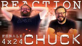 Chuck 4×24 Reaction EARLY ACCESS