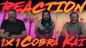 Cobra Kai 1×1 Reaction EARLY ACCESS