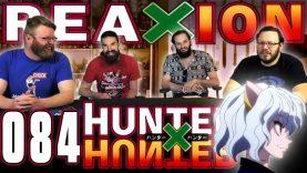 Hunter x Hunter 84 Reaction EARLY ACCESS