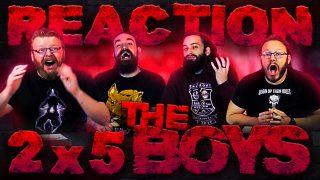 The Boys 2×5 Reaction Thumbnail