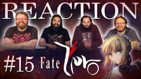 Fate/Zero 15 Reaction EARLY ACCESS