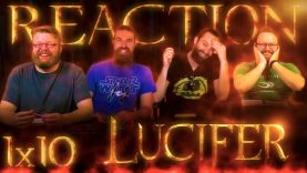 Lucifer 1×10 Reaction EARLY ACCESS