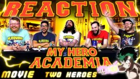 My Hero Academia: Two Heroes Reaction