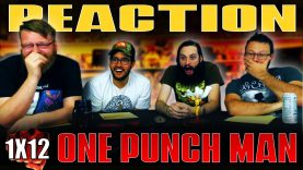 One Punch Man 1×12 REACTION!!
