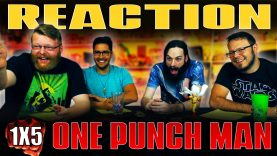 One Punch Man 1×5 REACTION!!