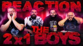 The Boys 2×1 Reaction