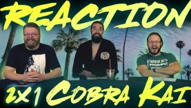 Cobra Kai 2×1 Reaction