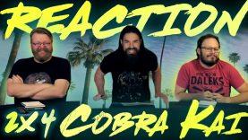 Cobra Kai 2×4 Reaction