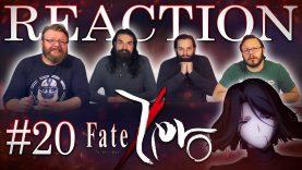 Fate/Zero 20 Reaction