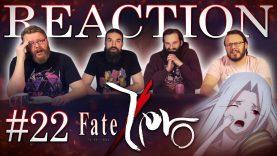 Fate/Zero 22 Reaction