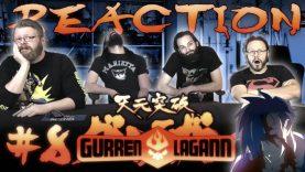 Gurren Lagann 08 Reaction