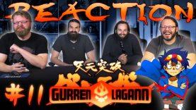Gurren Lagann 11 Reaction