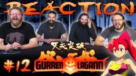 Gurren Lagann 12 Reaction