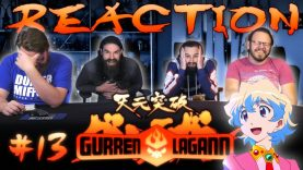 Gurren Lagann 13 Reaction