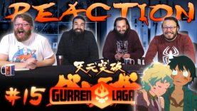 Gurren Lagann 15 Reaction