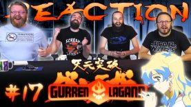 Gurren Lagann 17 Reaction