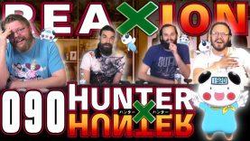 Hunter x Hunter 90 Reaction