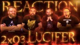 Lucifer 2×3 Reaction