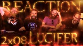 Lucifer 2×8 Reaction