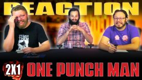 One Punch Man 2×1 Reaction