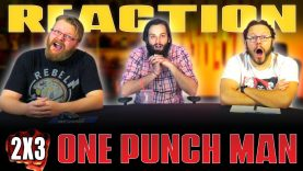 One Punch Man 2×3 Reaction
