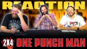 One Punch Man 2×4 Reaction