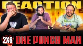 One Punch Man 2×6 Reaction