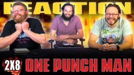 One Punch Man 2×8 Reaction