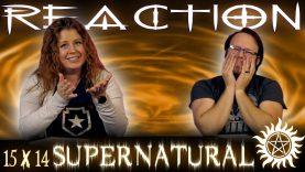 Supernatural 15×14 Reaction