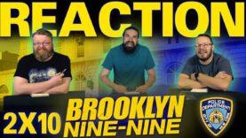 Brooklyn Nine-Nine 2×10 Reaction
