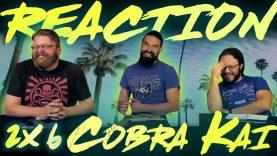 Cobra Kai 2×6 Reaction
