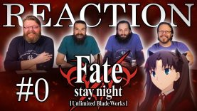 Fate/stay night: Unlimited Blade Works 00 Reaction